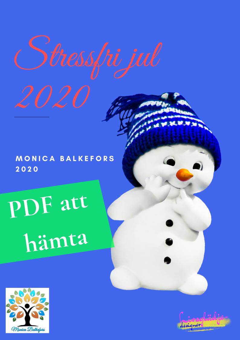 Stressfri jul 2020